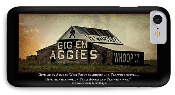 A Handful Of Aggies IPhone Case by Stephen Stookey
