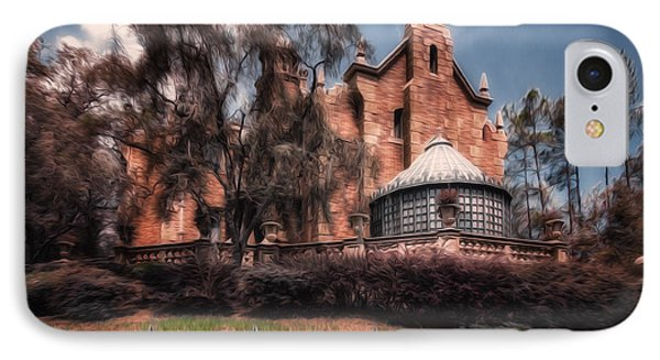 A Haunting House IPhone Case by Joshua Minso