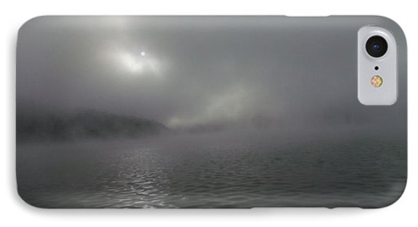 A Haunting Morning On Cave Run Lake IPhone Case
