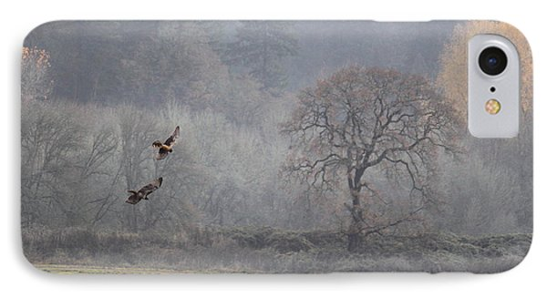 A Hawk's Paradise Phone Case by Angie Vogel