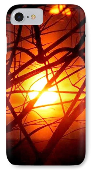 A Heart Filled With Light IPhone Case by Renee Michelle Wenker
