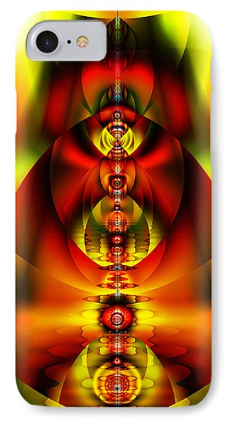 IPhone Case featuring the digital art A Heuristic Feel by Mario Carini