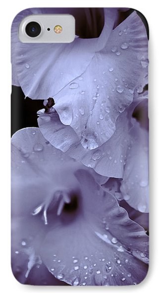A Hint Of Purple Phone Case by Peggie Strachan