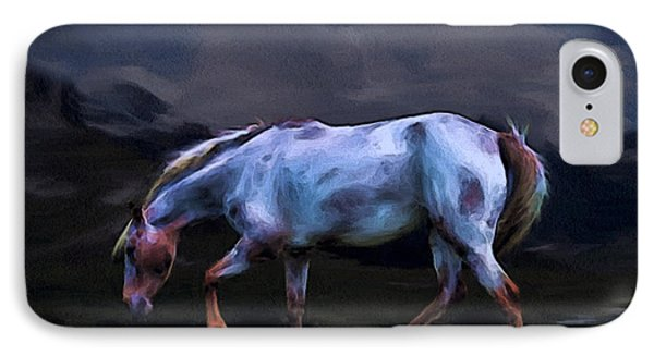 A Horse Of Many Colors Phone Case by Tyler Robbins