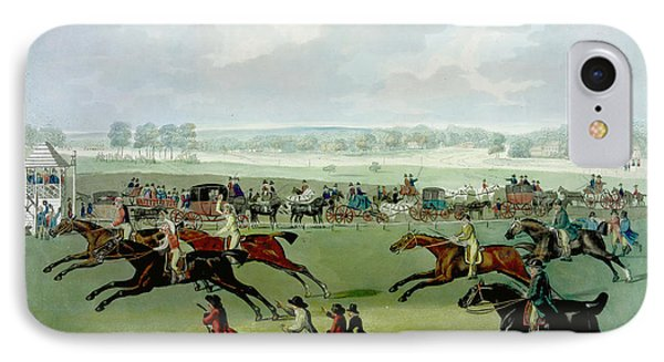 A Horse Race IPhone Case by British Library
