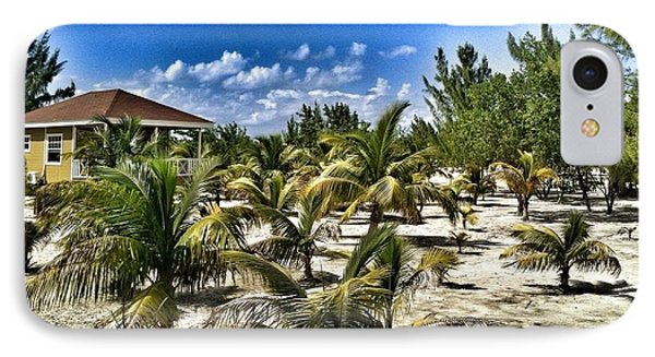 A Hot Day On Cocoa Plum Cay IPhone Case