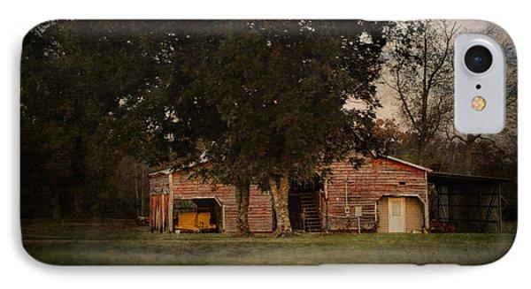 A House Or A Barn IPhone Case by Jai Johnson