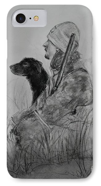 A Hunter's Best Friend IPhone Case by Michelle Wolff