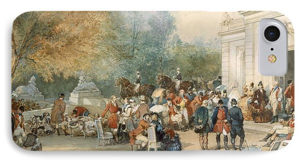 A Hunting Breakfast In England, 1870 IPhone Case