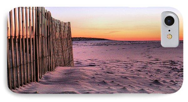 A Jones Beach Morning Phone Case by JC Findley
