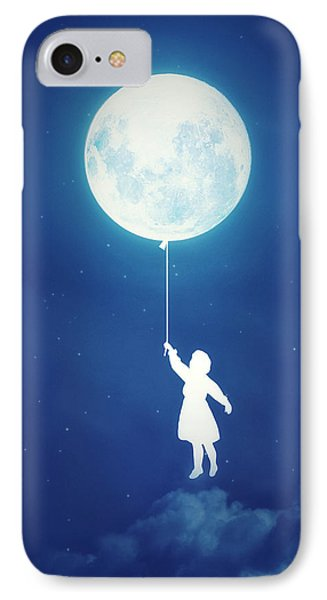 A Journey Of The Imagination IPhone Case by Philipp Rietz