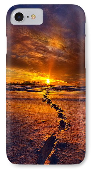 A Journey To The Shining Star IPhone Case