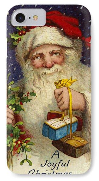 A Joyful Christmas IPhone Case by English School