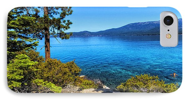 IPhone Case featuring the photograph A Jump On Summer by Nancy Marie Ricketts