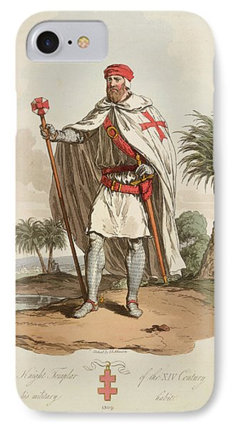 A Knight Templar IPhone Case by British Library