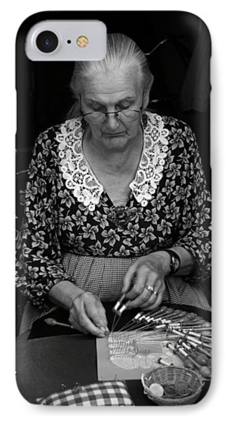 A Lacemaker In Bruges Phone Case by RicardMN Photography