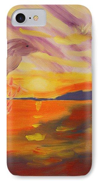 A Leap Of Joy IPhone Case by Meryl Goudey