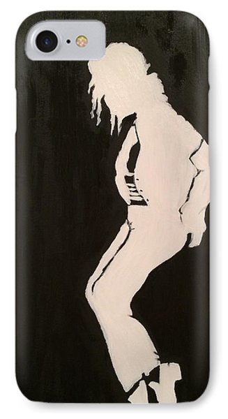 IPhone Case featuring the painting A Legend by Brindha Naveen