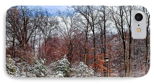 A Light Dusting Phone Case by Frozen in Time Fine Art Photography