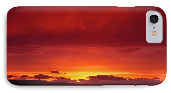 A Light In The Clouds  Phone Case by Jeff Swan
