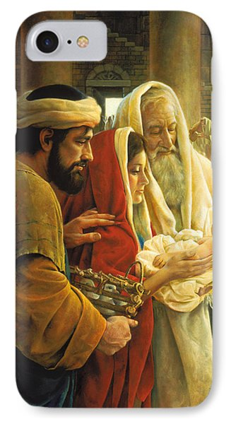 Dove iPhone 7 Case - A Light To The Gentiles by Greg Olsen