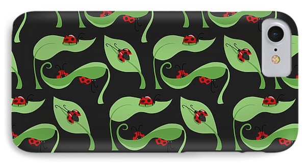 A Litte Bug IPhone 7 Case by Debra  Miller