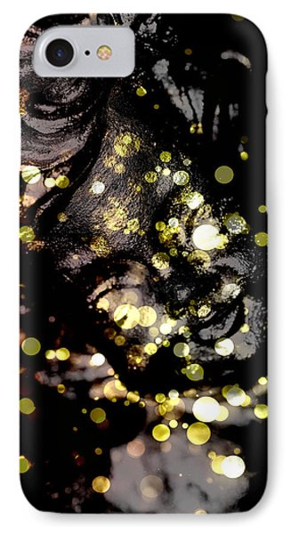 A Little Angel Statue  IPhone Case by Tommytechno Sweden