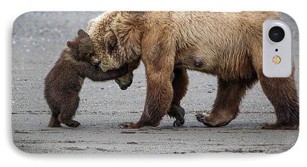 A Little Bear Hug IPhone Case