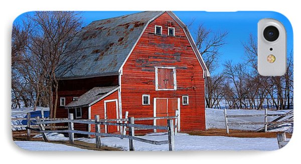 A Little Bit Of Country IPhone Case by Larry Trupp