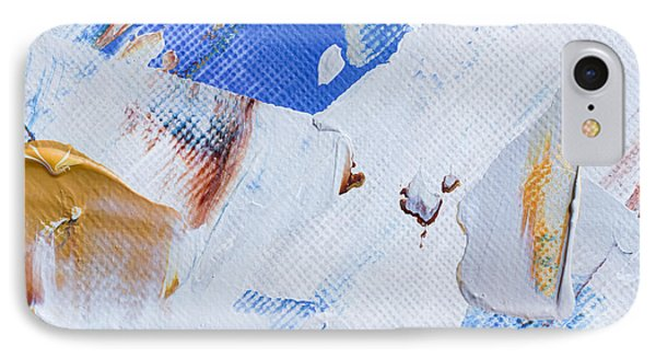 IPhone Case featuring the painting A Little Blue by Heidi Smith