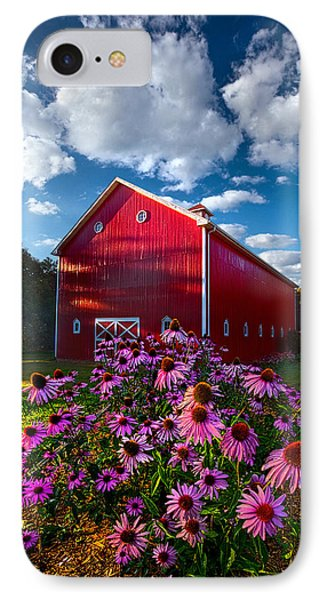 A Little More Country IPhone Case by Phil Koch