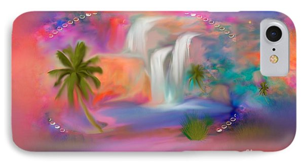 A Little Secret Place In Heaven To Meditate IPhone Case by Sherri's Of Palm Springs