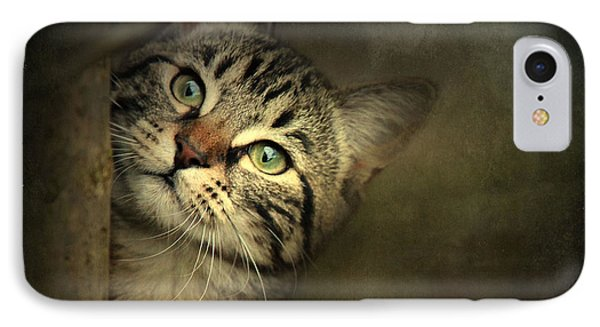 IPhone Case featuring the photograph A Little Shy by Annie Snel
