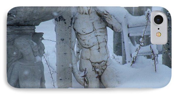 IPhone Case featuring the photograph A Load Of Snow by Brian Boyle