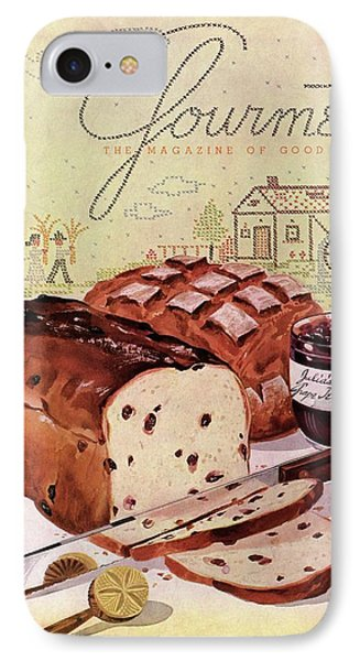 A Loaf Of Raisin Bread IPhone Case by Henry Stahlhut
