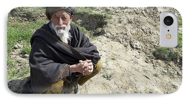 A Local Afghan Man Near A Village Phone Case by Stocktrek Images