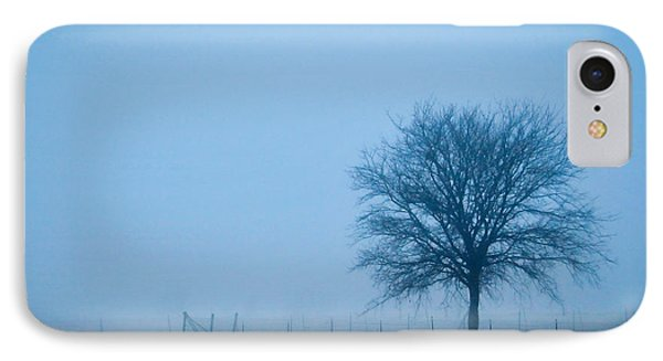 A Lone Tree In The Fog IPhone Case