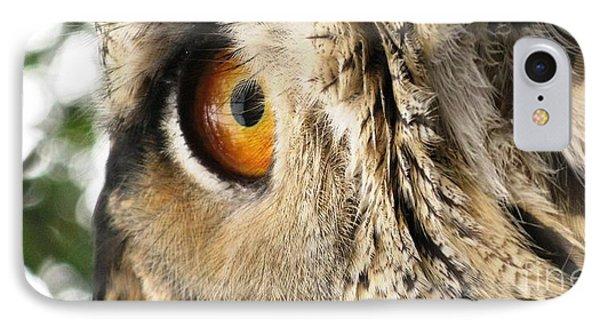 IPhone Case featuring the photograph Bubo Bubo- Eurasian Eagle Owl. Close Up. by Ausra Huntington nee Paulauskaite