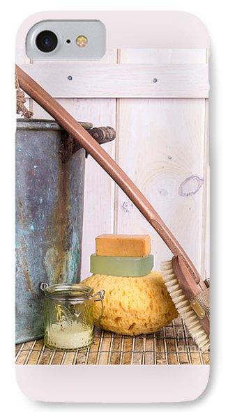 A Long Hot Bath IPhone Case by Edward Fielding