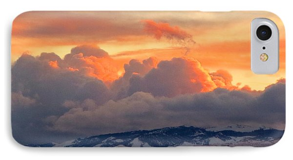 A Lovely Stormy Susnset Phone Case by Phyllis Kaltenbach