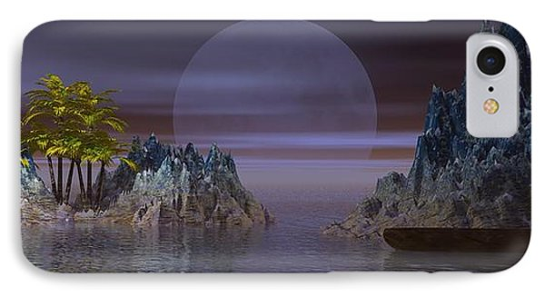 IPhone Case featuring the digital art A Lover's Hide-a-way by Jacqueline Lloyd