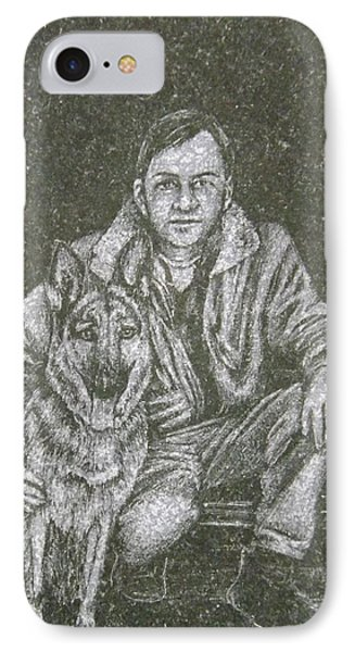 A Man And His Dog IPhone Case