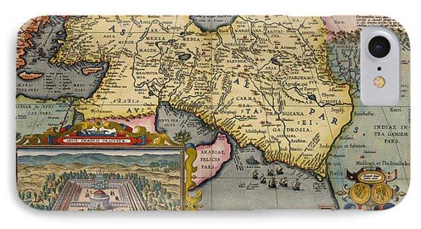 A Map Ofasia IPhone Case