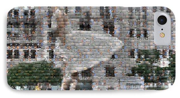 A Marilyn Mosaic Phone Case by David Bearden