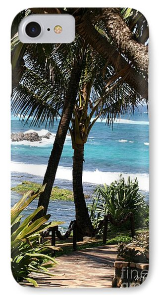 A Maui Afternoon IPhone Case by Mary Lou Chmura