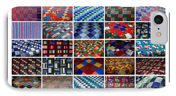 A Menagerie Of Colorful Quilts  IPhone Case