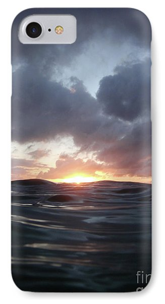 A Mermaid's Point Of View IPhone Case by Suzette Kallen