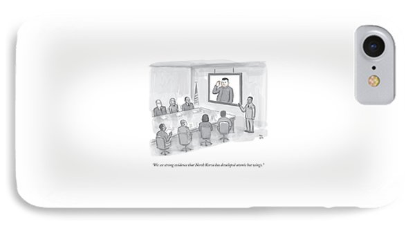 A Military Briefing IPhone Case by Paul Noth