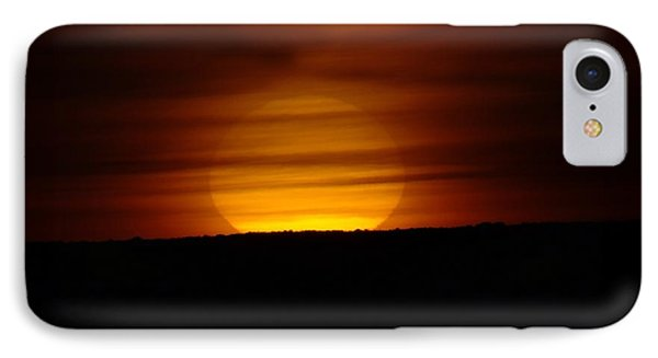 A Misted Sunset Phone Case by Jeff Swan