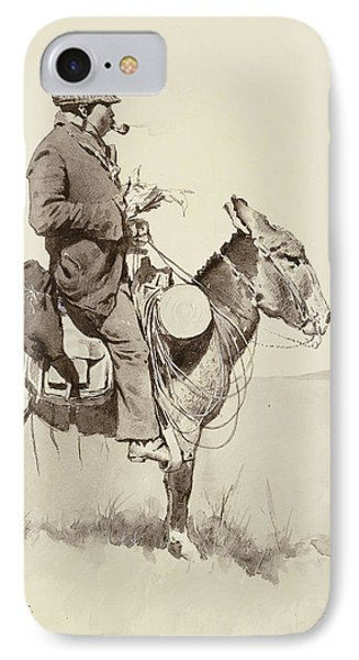 A Modern Sancho Panza IPhone Case
